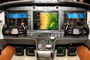 The Diamond D-Jet glass cockpit