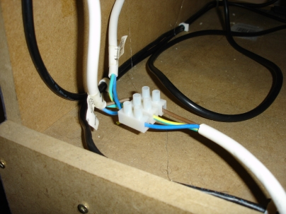 Two power cords joined into one