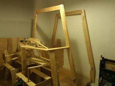 Getting down to the basic frame now